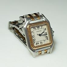Cartier Two Tone Ladies Watch
