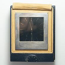 Bulgari Silver Desk Clock