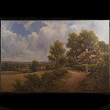 Oil on Canvas Painting by Henry Maidment(British 1889-1914)