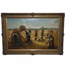 H. Moncznik Oil Painting