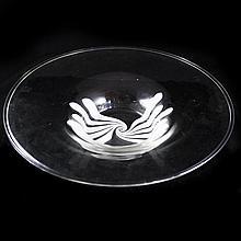 Large Murano Glass Bowl by Alredo Barbini