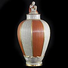 Royal Coppenhagen Porcelain Urn