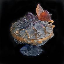 Daum Crystal Papillon Box