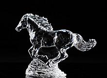 Waterford Crystal Horse Figurine