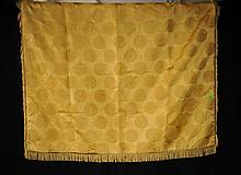 Versace Gold Tassled Throw
