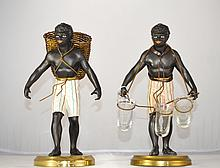 Two Blackamoor Figural Sculptures