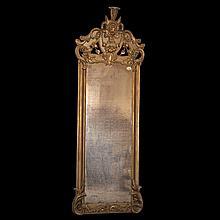 Gilt Wooden Mirror