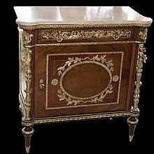 Italian Wood & Marble Commode