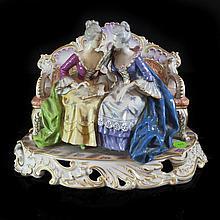 Figural Porcelain Capodimonte