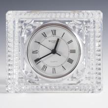 Vintage Waterford Crystal Desk Clock.
