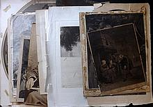 Mixed Prints 18th-19th Century. Lot of 18, All damaged, but including Rare.