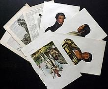 McKenney, Thomas & Hall, James 1870 Group of 4 North American Indian Prints and Others