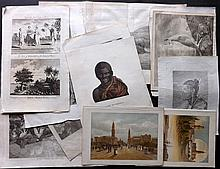 Voyages - Australia & New Zealand (Mostly) 18th-19th Century, Lot of 16 Prints