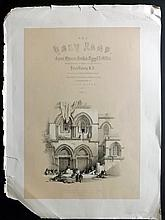Roberts, David 1842 Lithographed Title Page for