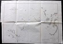 Florida 1856 Map of St. John's River, U. S. Coast Survey