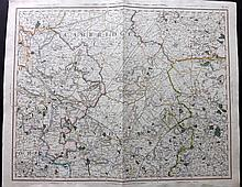 Cary, John & George 1828-9 Pair of Maps for Cary's Improved Map of England and Wales