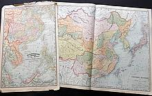 Philippines & China C1890-1915 Lot of 5 Maps by Rand & McNally