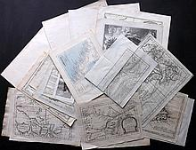 USA & Canada 18th-19th Century. Good Lot of 23 Maps
