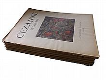 Art Treasures of the Word & Peintures de Cezanne - 6 Issues, Lautrec, Cezanne, Degras, Manet, French Impressionists, 1940's/50's, 96 Colour Plates