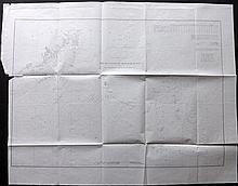 Massachusetts 1856 Large Coastal Map, incl Martha's Vineyard & Nantucket, U. S. Coast Survey