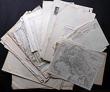 Maps 19th Century Mixed Lot of 60+ Engraved & Lithographed Maps