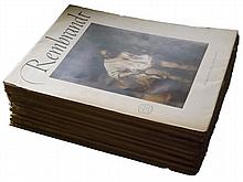 Art Treasures of the Word - 14 Issues, Bosch, Rembrandt, Goya, Titian, Rubens, Michelangelo etc. 1950's, 224 Colour Plates