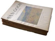 Art Treasures of the Word, Van Gogh & Chagall Peintures & Joan Miro Ou Le Poete Prehistorique - 7 Issues, Joan Miro, Chagall, Van Gogh, Rouault, Picasso, Dufy, Modigliani 1940's/50's, 106 Colour Plates