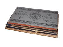 British Topogrpahy - Vignette Plate Books, Group of 4 Vols, 48 Plates. Scotland, Stratford, Winchester, Harwich, Dovercourt