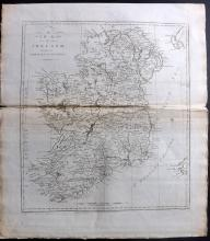 Harrison, John (Pub) 1787 Map of Ireland