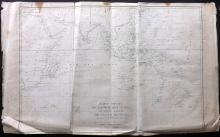 Labillardiere, Jacques & Bocage, Jean-Denis Barbié du 1799 Large Map of the Search for Perouse, Australia, Indian Ocean