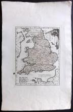 von Reilly, Franz Johann Joseph 1791 Map of England & Wales