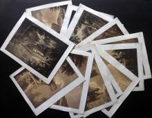 Alken, Samuel after Rev. J. Griffith C1800 Lot of 12 Rare Aquatint Views of Yorkshire