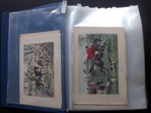 Leech, John, Phiz & Maud 1880-1911 Lot of 180+ Hand Coloured Sporting, Foxhunting & Humour Prints