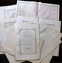 Andriveau-Goujon, Eugene (Pub) 1862 Lot of 15 Maps for