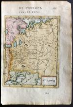 Mallet, Alain Manesson 1683 Map of Moscovie, Russia
