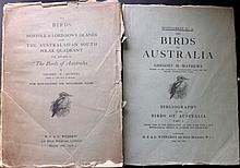 Mathews, Gregory Macalister - The Birds of Norfolk & Lord Howe Islands and The Australian South Polar Quadrant, 45 plates, 1928