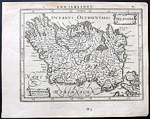 Jansson, Jan C1631 Map of Ireland