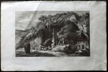 Greece - Choiseul Gouffier, Marie Gabriel Auguste Florent de 1842 Prints of Antiparos Grotto