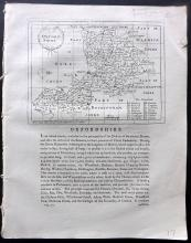 Oxford C1800 Set including Map and 9 Copper Engraved Views by Grose