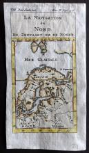Pluche, Noel Antoine 1746 Hand Coloured Map. Poland, Ukraine, Russia & Scandinavia