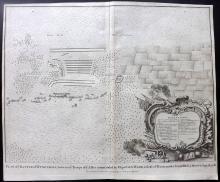 Rapin de Thoyras, Paul & Tindal, Nicholas 1743 Map of Wynendale, Belgium
