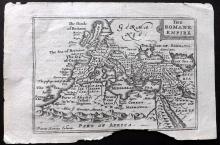 Speed, John & Keere, Pieter van den 1675 Map of The Roman Empire