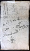 Montresor, John 1775 One Section (Of four) to the famous Map of the Province of New York