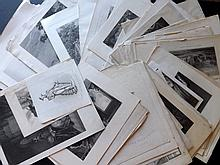 Steel Plate. 19th Century Lot of 70 Steel Engravings. Views, Portraits, Classsical, Genre etc