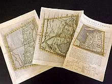 Ruscelli, Girolamo. Collection of 3 Hand Coloured Ptolemaic Maps, 16th Cent.