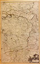 Sanson, Nicolas & Jaillot, Hubert 1696 Large Map of Belgium & Holland