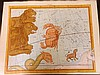 Flamsteed, John 1781 Large Hand Coloured Celestial Map. Cancer 4