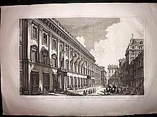 Piranesi, Giovanni Battista C1800 Large Architectural Print. Palazzo Odescalchi 26