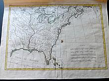 Bonne, Rigobert 1776 Map of the United States & Canada