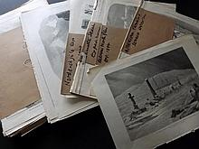 Arctic Expeditions 19th Century. Lot of Approx 170 Prints from the Illustrated London News & The Graphic